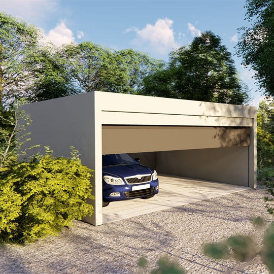 batiment modulaire garage