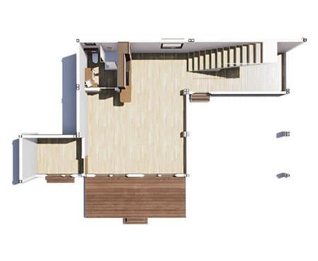 construction bureau modulaire solhab famille 125