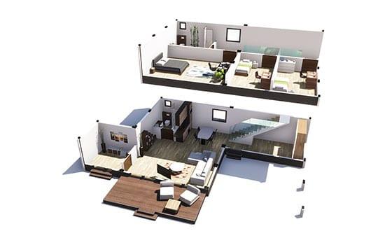 maison modulable prix solhab famille 155