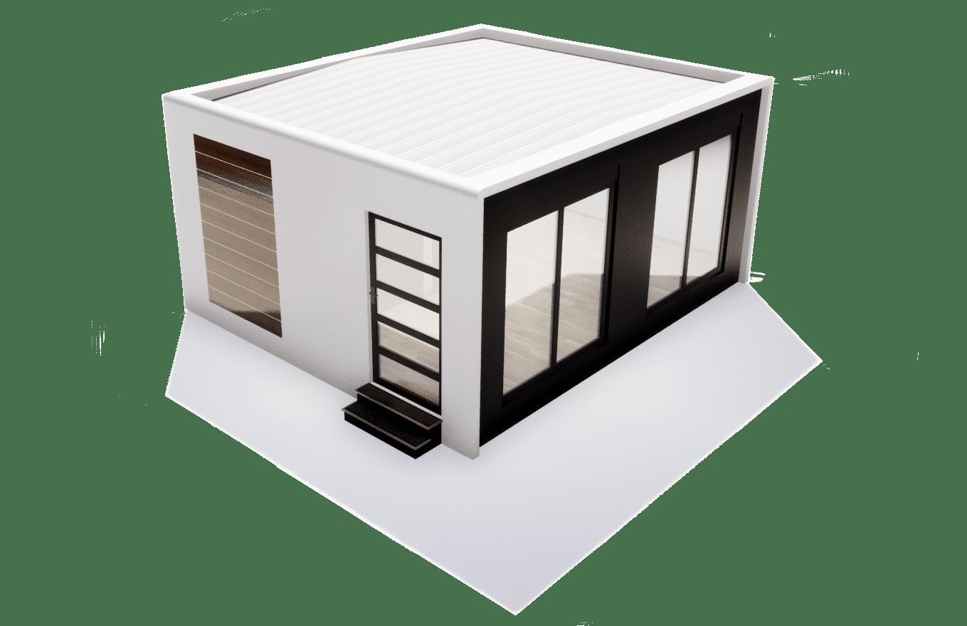 maison modulaire préfabriquée solhab30