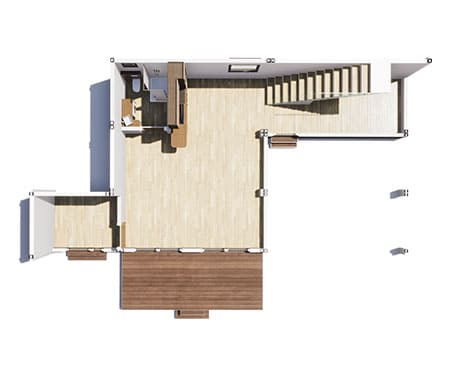 maison modulaire tarif solhab famille 155