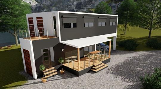 maison préfabriquée MG Solutions habitat