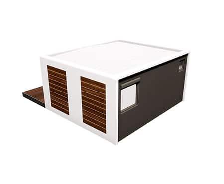 maison préfabriquée modulaire solhab camp