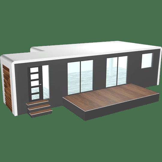 maison préfabriquée modulaire solhab famille 50