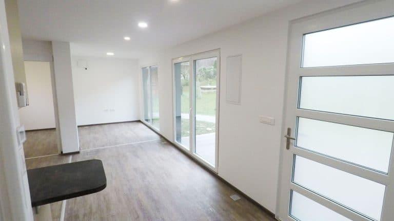 maisons modulaires contemporaines projet appartement MG Solutions Habitat