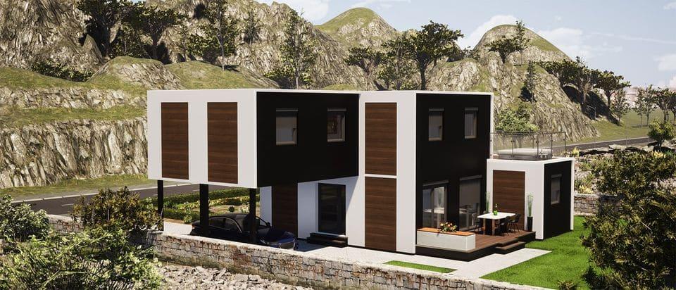 maison modulaire ecologique solhab famille 125