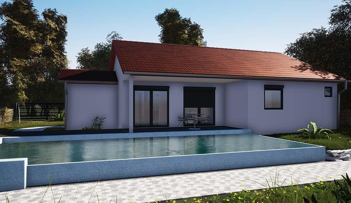 wooden modular house solhab family 125